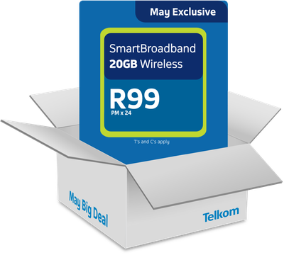 Get The May Big Deal for <br> <strong>R99pmx24</strong>