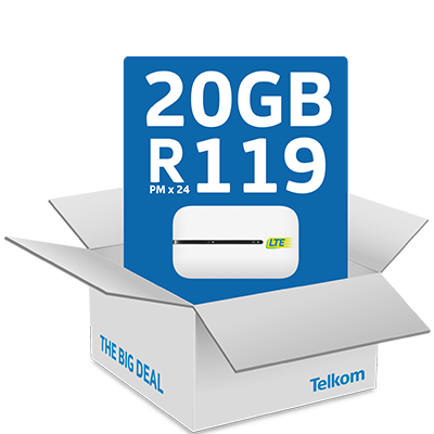 Get The February Big Deal for <br> <strong>R119pmx24</strong>